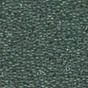 Miyuki Rocailles Perlen 2mm 217 forest green lined Crystal ca 12gr