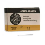 John James Nadeln Sharps 25 Stück Grösse 12