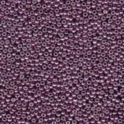 Miyuki Rocailles Perlen 2mm 4220 Duracoat galvanized Eggplant ca 23,5gr