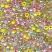 Miyuki Rocailles Perlen 2mm Mix09 Lemonade ca 24 Gr.