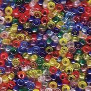 Miyuki Rocailles Perlen 2mm Mix16 Rainbow ca 24 Gr.