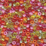 Miyuki Rocailles Perlen 2mm Mix19 Tango ca 24 Gr.