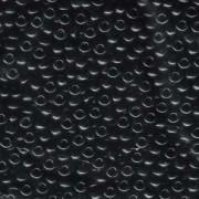 Miyuki Rocailles Perlen 4mm 401 Black 20gr