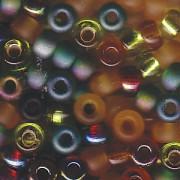 Miyuki Rocailles Perlen 4mm Mix07 Earthtone ca 20 Gr.