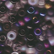 Miyuki Rocailles Perlen 4mm Mix13 Pebblestone ca 20 Gr.