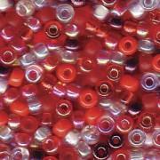 Miyuki Rocailles Perlen 3mm Mix05 Strawberry Fields ca 22gr