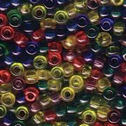 Miyuki Rocailles Perlen 3mm Mix16 Rainbow ca 22gr