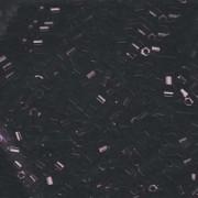 Miyuki Hexagon Perlen 8C-0401 3mm opaque Black 11gr
