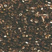 Miyuki Hexagon Perlen 8C-0457 3mm metallic Dark Bronze 11gr