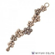 Miyuki Bead Jewelry Kit BFK 156 Right Angle Weave Souple Flower Bracelet
