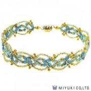 Miyuki Bead Jewelry Kit BFK 44 Fleurir Bracelet