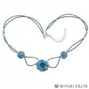 Miyuki Bead Jewelry Kit BFK 97 Azure Rose Necklace