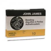 English Beading Needles 25 Stück Größe 10