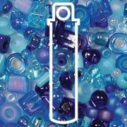 Beadsoup Perlensuppe MIX 02 ca 22gr  Blue Tones