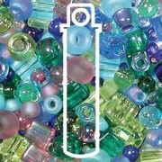 Beadsoup Perlensuppe MIX 14 ca 22gr  Gemtones