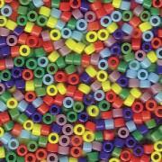 Miyuki Delica Perlen 1,6mm Mix37 opaque Rainbow 7,2 Gr.