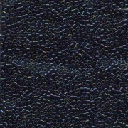 Miyuki Delica Perlen 1,3mm DBS0002 metallic rainbow Midnight Blue 5gr