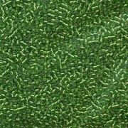 Miyuki Delica Perlen  1,6mm DB0046 Silverlined Light Green 5gr