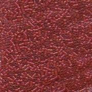 Miyuki Delica Perlen 1,6mm DB0295 CI Red-Red AB 5gr