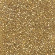 Miyuki Delica Perlen 2,2mm DBM0033 colorlined 24 Karat Gold lined 7,2 Gr.