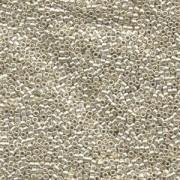 Miyuki Delica Perlen  1,6mm DB0035 galvanized Silver 5gr