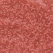 Miyuki Delica Perlen 2,2mm DBM0070 inside colorlined Crystal Rose Pink 7,2 Gr.