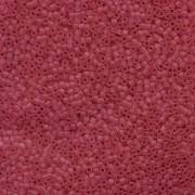 Miyuki Delica Perlen 1,6mm DB0778 Transparent Dyed matt Cranberry 5gr