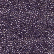 Miyuki Delica Perlen 1,6mm DB0117 transparent luster Lavender Blue 5gr