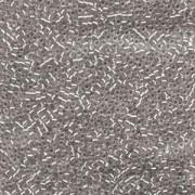 Miyuki Delica Perlen 1,6mm DB1211 Silverlined mist Grey 5gr