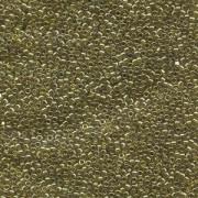Miyuki Delica Perlen 1,6mm DB0124 transparent luster Chartreuse 5gr