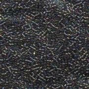 Miyuki Delica Perlen 2,2mm DBM0180 transparent rainbow Bronze 7,2 Gr.