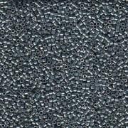 Miyuki Delica Perlen 1,6mm DB1846 Duracoat galvanized Dark Seafoam ca 7,2 Gr.
