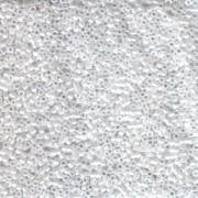 Miyuki Delica Perlen 2,2mm DBM0201 opaque luster White 7,2 Gr.