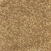 Miyuki Delica Perlen 1,3mm DBS0230 24 Karat Goldlined Cream 5gr