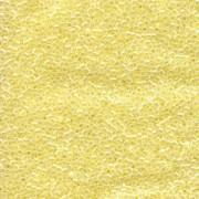 Miyuki Delica Perlen 2,2mm DBM0232 opaque luster Yellow 7,2 Gr.