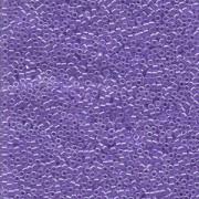 Miyuki Delica Perlen 2,2mm DBM0249 opaque luster Light Purple 7,2 Gr.