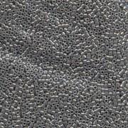 Miyuki Delica Perlen 1,3mm DBS0251 opaque luster Pewter 5gr