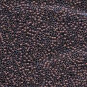 Miyuki Delica Perlen 2,2mm DBM0312 metallic matte Dark Copper 7,2 Gr.