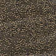 Miyuki Delica Perlen 1,3mm DBS0322 metallic matte Bronze 4gr