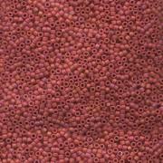 Miyuki Delica Perlen 2,2mm DBM0362 matte Red 7,2 Gr.