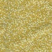 Miyuki Delica Perlen 2,2mm DBM0623 silverlined alabaster Light Yellow 7,2 Gr.