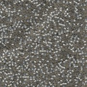Miyuki Delica Perlen 2,2mm DBM0630 silverlined alabaster Light Taupe 7,2 Gr.