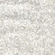 Miyuki Delica Perlen 2,2mm DBM0670 satin White 7,2 Gr.