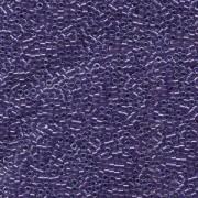 Miyuki Delica Perlen 1,6mm DB0923 inside colorlined with sparkle Crystal Dark Purple 5gr