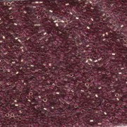 Miyuki Delica Perlen 1,6mm Hexcut DBC0108 transparent luster Amethyst 5gr