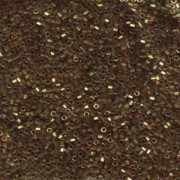 Miyuki Delica Perlen 1,6mm Hexcut DBC0115 transparent luster Gold Rose 5gr