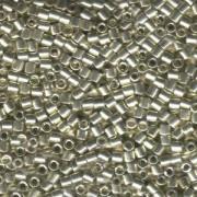 Miyuki Delica Perlen 3mm DBL0035 galvanized Silver ca 6,8 Gr.