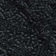 Miyuki Delica Perlen 3mm DBL0310 matte Black ca 6,8 Gr.