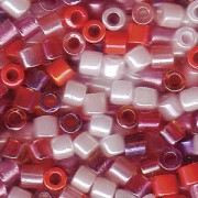 Miyuki Delica Perlen 3mm Mix05 Strawberry Fields 6,8 Gr.