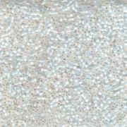 Miyuki Delica Perlen 1,3mm DBS0222 opaque rainbow White Opal 5gr